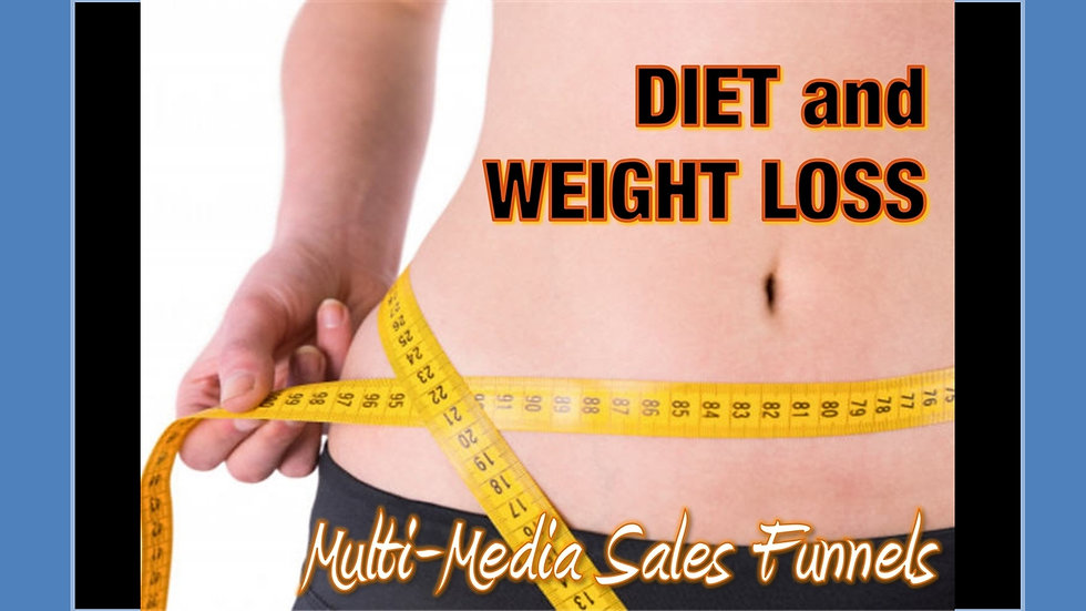 Diet and Weight Loss Mix and Match Multimedia Sales Funnels