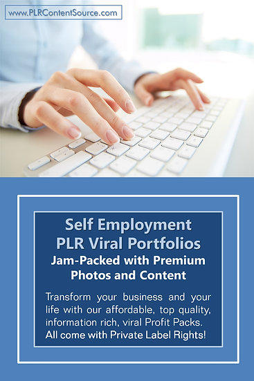 Self Employment and WAH Niche Domination Pack