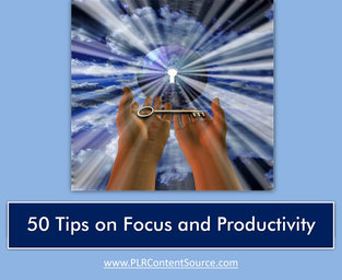 FOCUS AND PRODUCTIVITY TIPS
