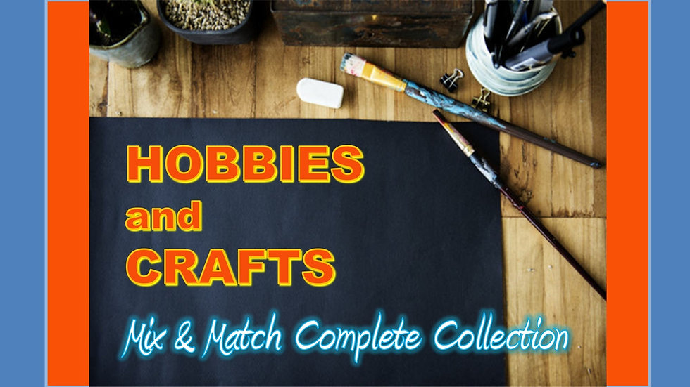 Hobbies and Crafts Mix and Match COMPLETE Collection