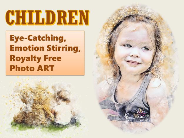 CHILDREN Photo Art Collection