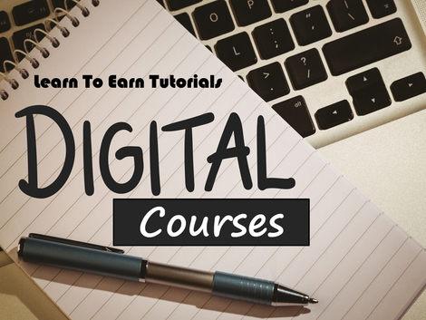 Digital Courses Learn To Earn Tutorials