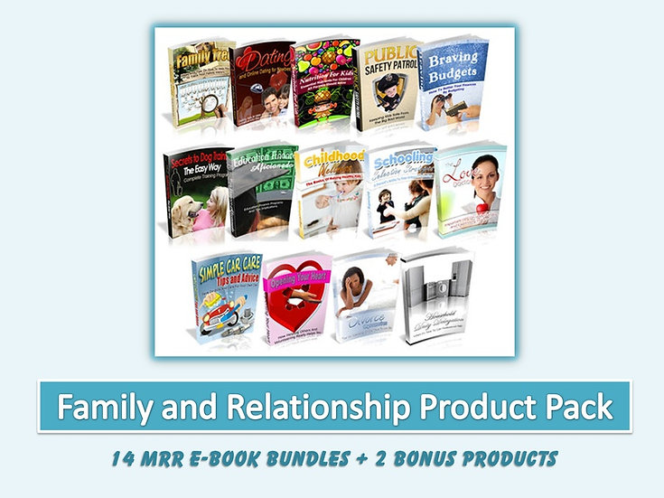 Family and Relationship eBook Bundles