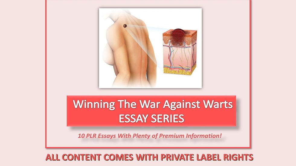 Winning The War Against Warts PLR Photo Essays
