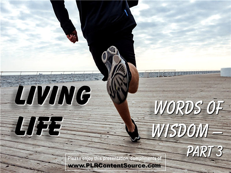 Living Life Photo Quote Collection - Part 2