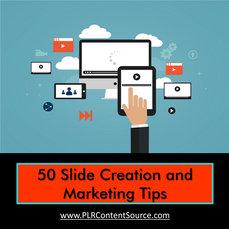 SLIDE SHOW CREATION & MARKETING TIPS