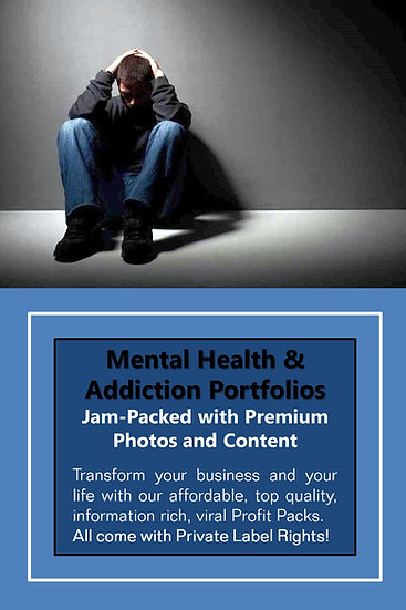 Mental Health and Addiction Niche Domination Pack