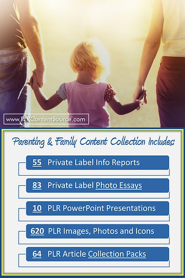 Parenting and Family Content Portfolios