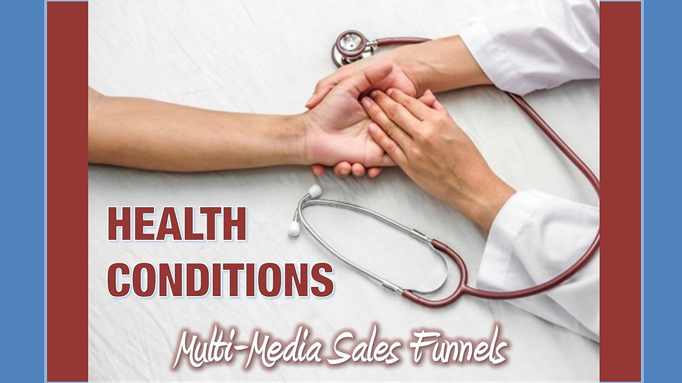 Health Conditions Mix and Match Multimedia Sales Funnels