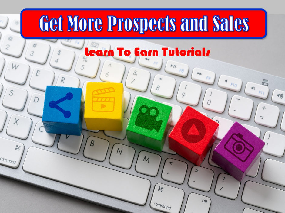 Get More Prospects and Sales PDF Tutorials