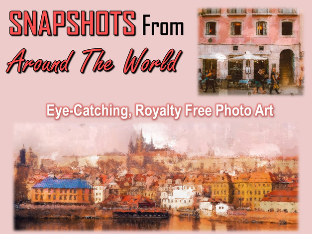 Snapshots From Around The World Photo Art Collection