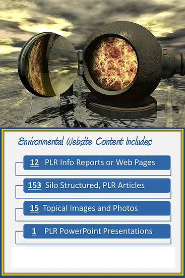 Environmental Turnkey Content Sites