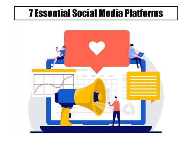 7 Essential Social Media Platforms