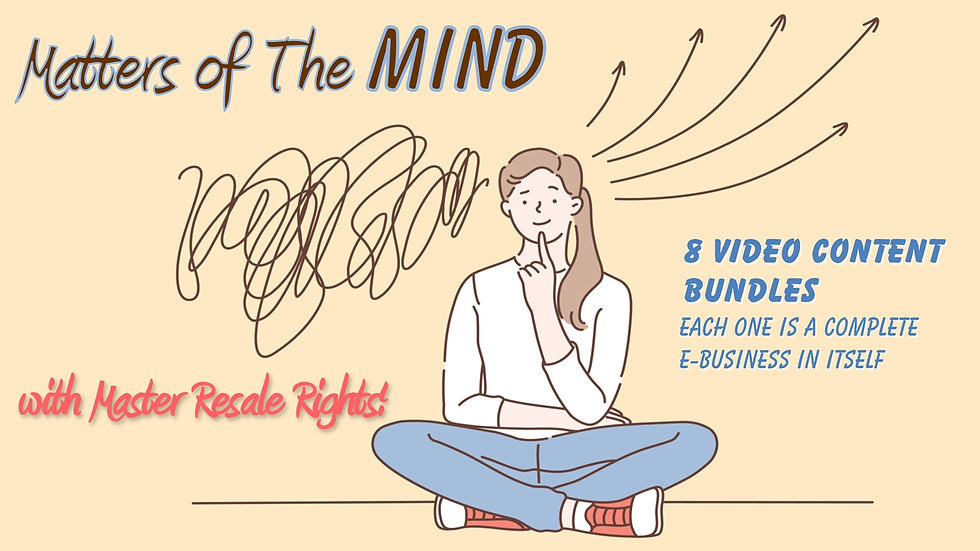 Matters of The Mind Multi-Media Bundle
