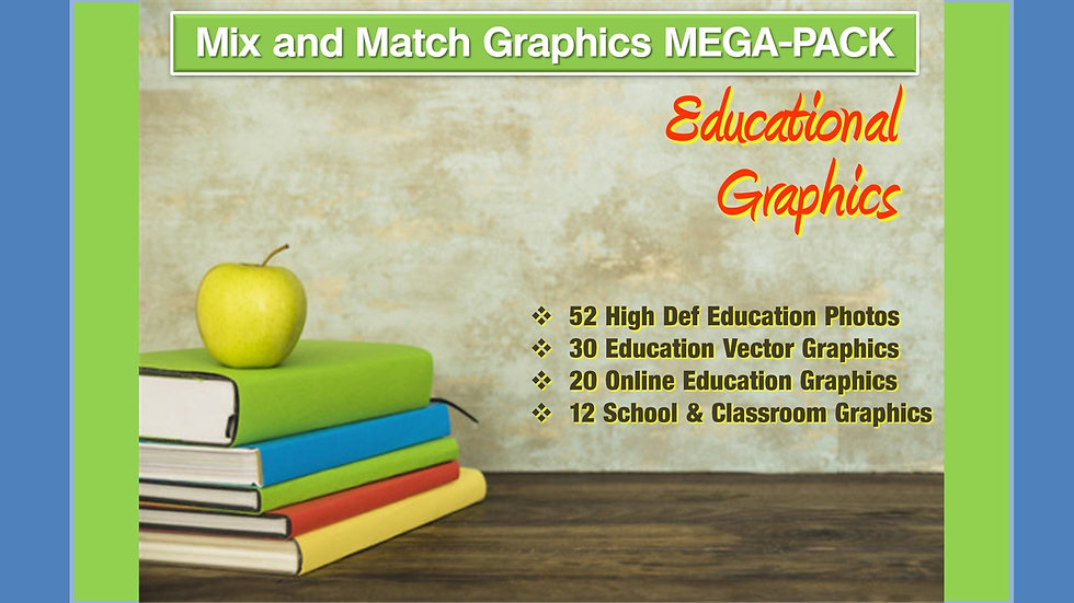 Education and Memory Mix and Match GRAPHICS Collection