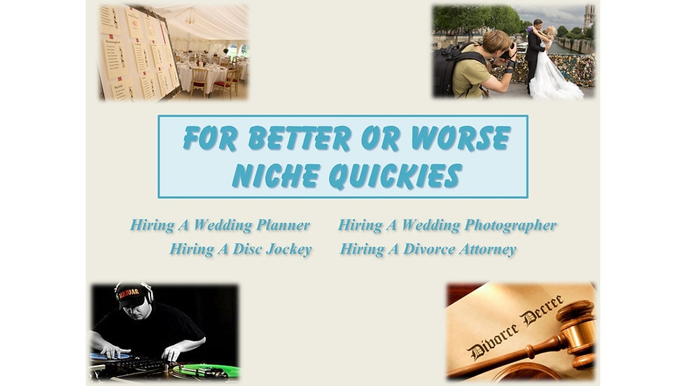 For Better Or Worse Niche Quickies