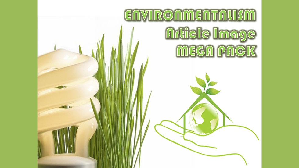 Environmentalism PLR Article and Image MEGA Pack