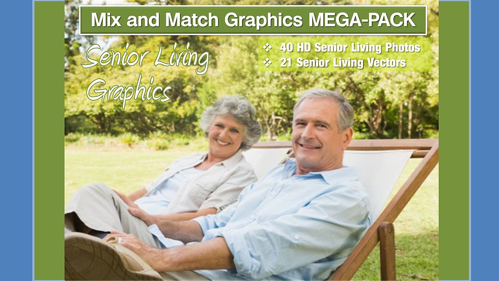 Senior Living Mix and Match GRAPHICS Collection