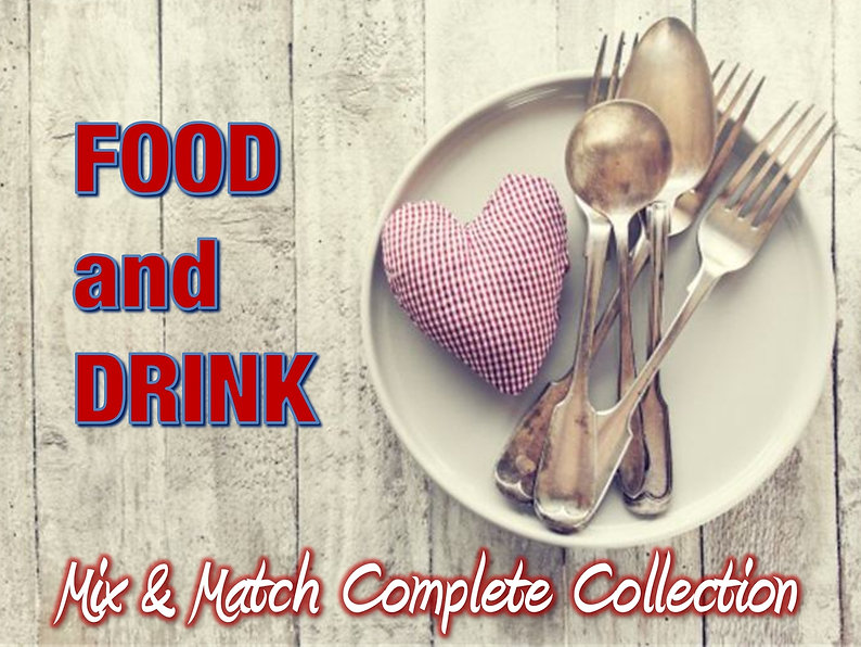 Food and Drink Private Label Conent Collection