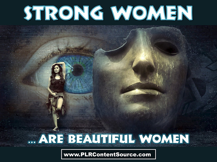 Strong Women Are Beautiful Women Photo Art Quotes