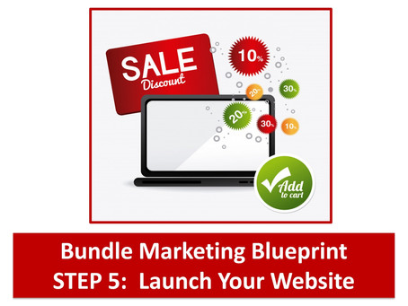 Bundle Marketing Blueprint Step 5: Launch Your Website