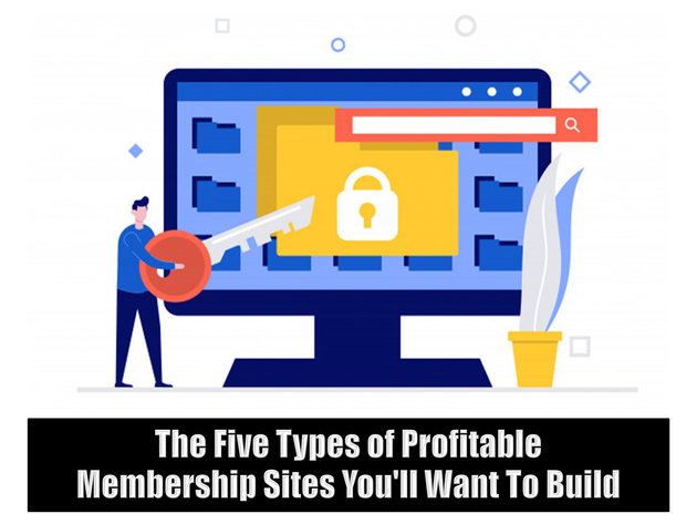 The Five Types of Profitable Membership Sites You'll Want To Build