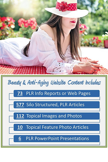 Beauty and Anti-aging Turnkey Content Sites