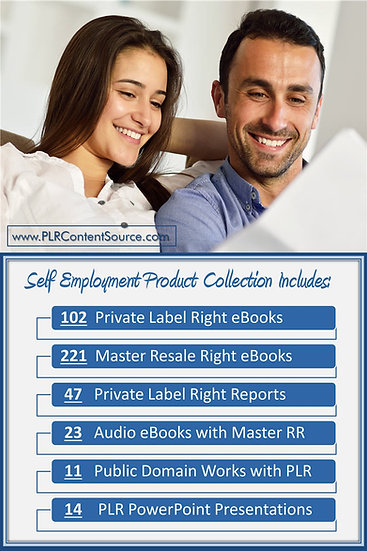 Self Employment and WAH Product Profit Packs