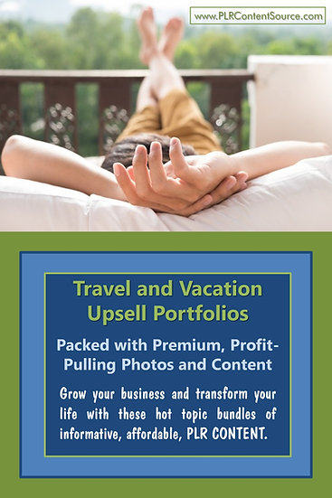Travel and Vacations Upsell Content Collection