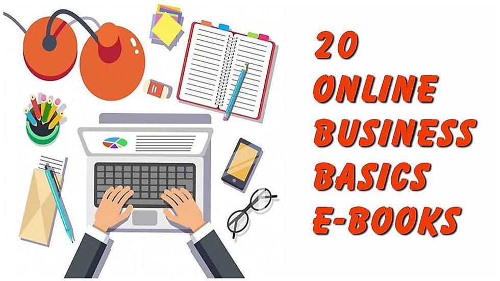 20 Online Business Basics eBooks