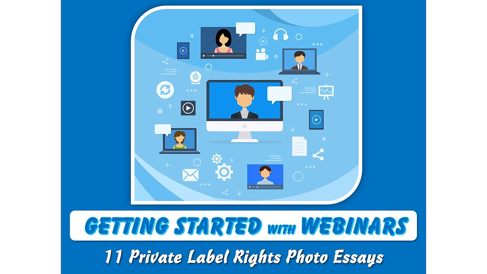Getting Started with Webinars Private Label Content Pack