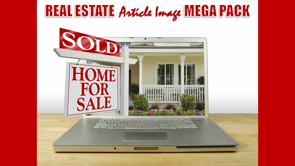 Real Estate PLR Article and Image MEGA Pack