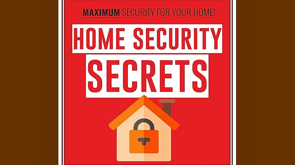 Home Security PLR Pack