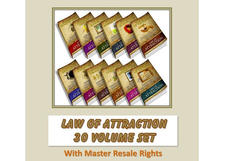 Law of Attraction 30 Volume Set
