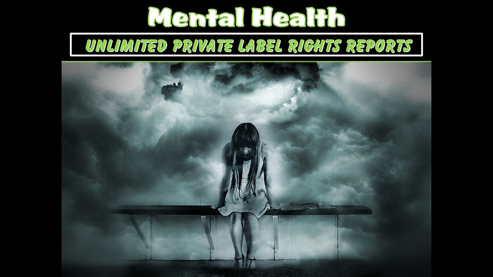 Mental Health Private Label Content Pack