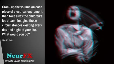 Crank up the volume on each piece of electrical equipment...