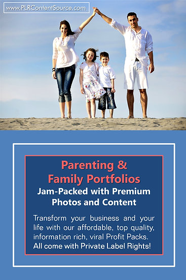 Parenting and Family Niche Domination Pack