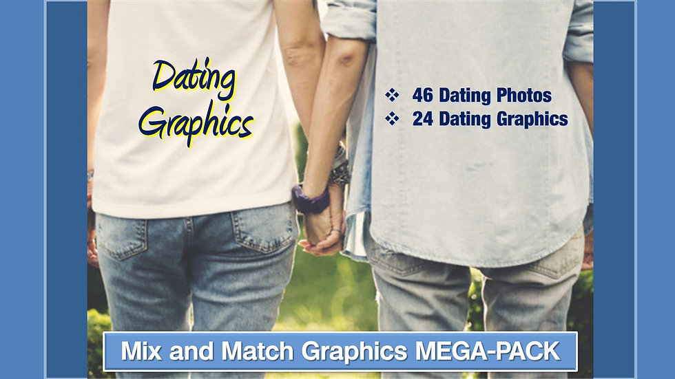 Dating Advice Mix and Match GRAPHICS Collection
