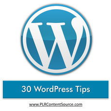 30 WORDPRESS TIPS