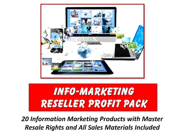Info-Marketing Reseller Profit Pack