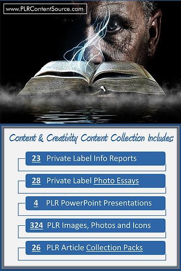 Content and Creativity Content Portfolios