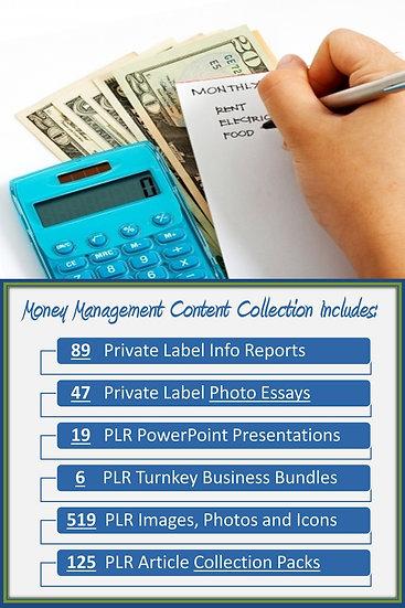 Money Management Content Portfolios