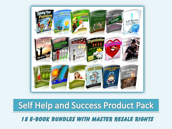Self Help and Success eBook Pack with MRR