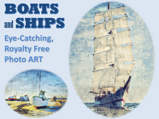 BOATS and SHIPS Photo Art Collection