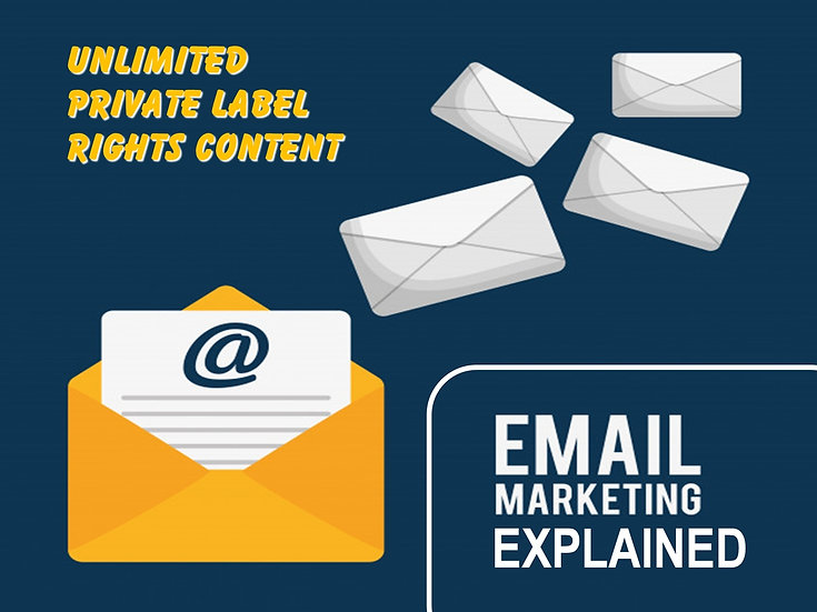 Email Marketing Explained Unlimited PLR Pack