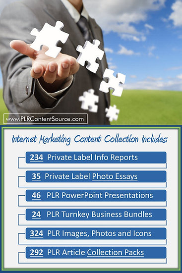 Internet Marketing Content Portfolios