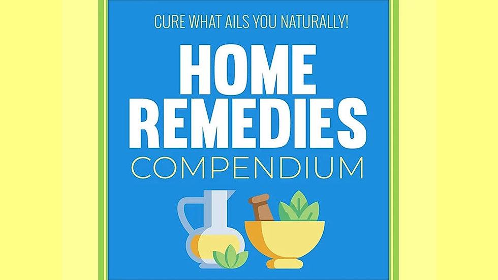 Home Remedies PLR Pack