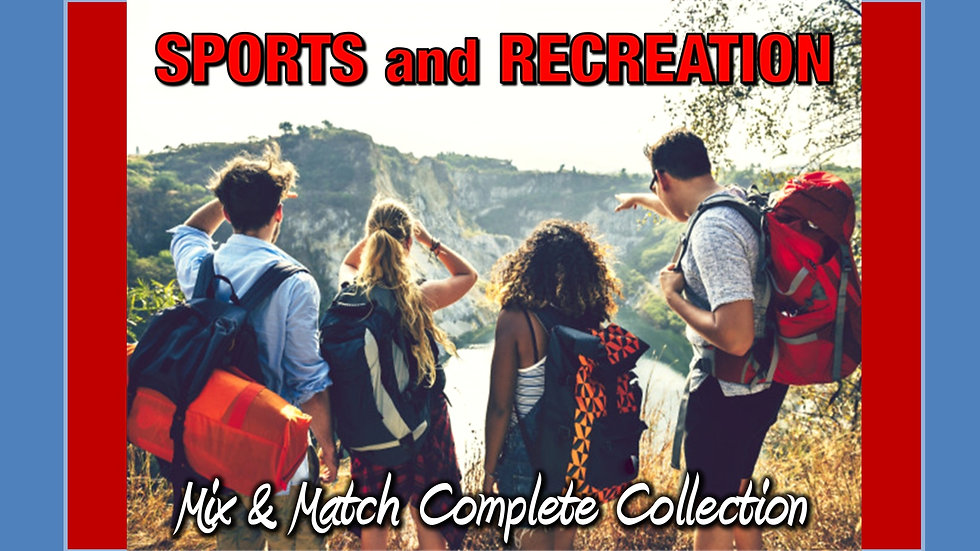 Sports and Recreation Mix and Match COMPLETE Collection