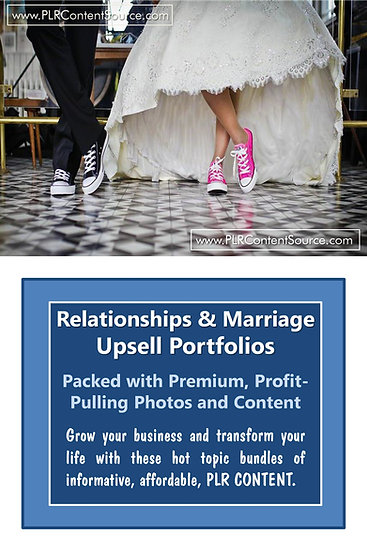 Marriage and Relationships Upsell Content Collection