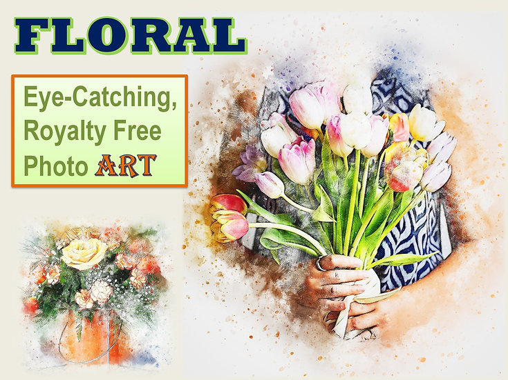 FLORAL Photo Art Collection